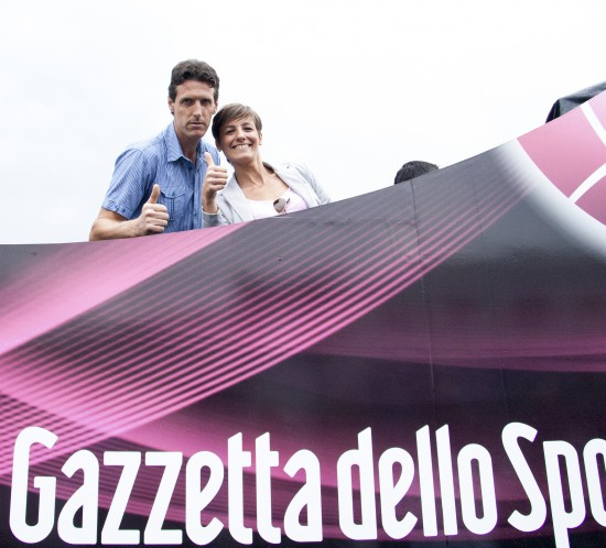 Sosta Carovana - Giro d'Italia - LA GRANDA